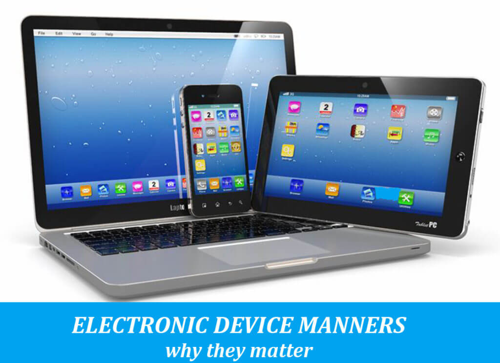 Electronic Device Manners: 5 lessons kids must learn - Momma Addict